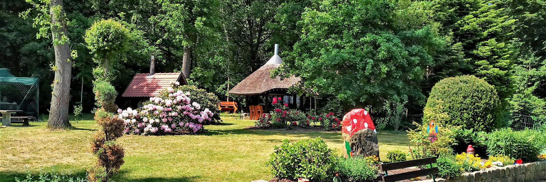 Garten - Ferienhaus Lippert