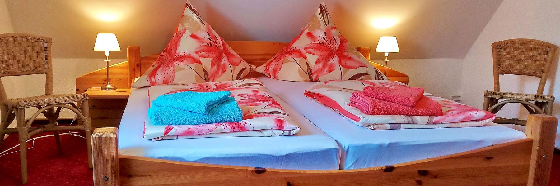 Schlafzimmer - Ferienhaus Lippert