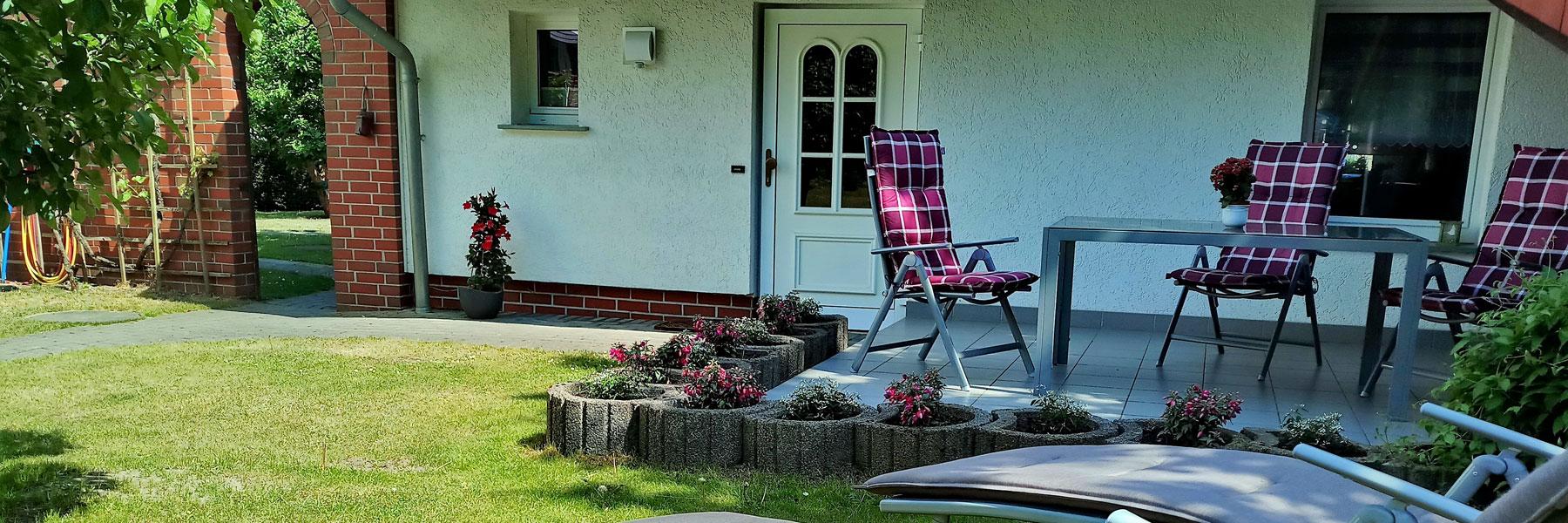 Terrasse - Ferienhaus Lippert