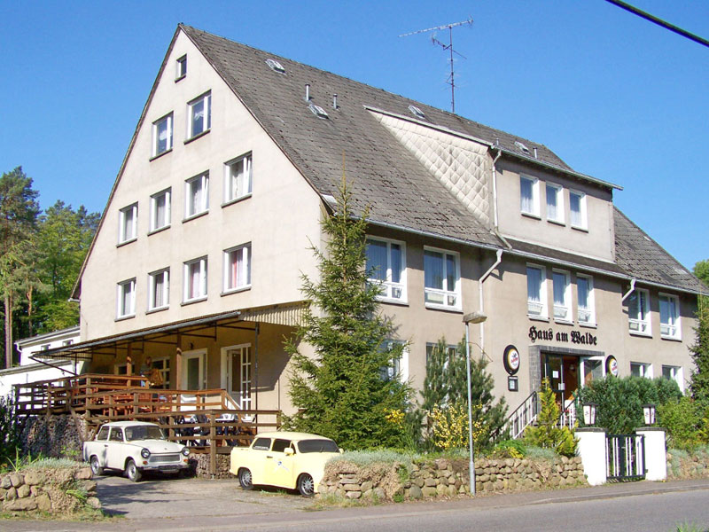 Haus am Wald in Borkow