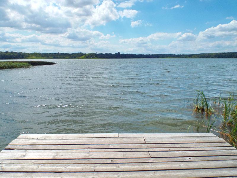 Blick auf den Kleinpritzer See