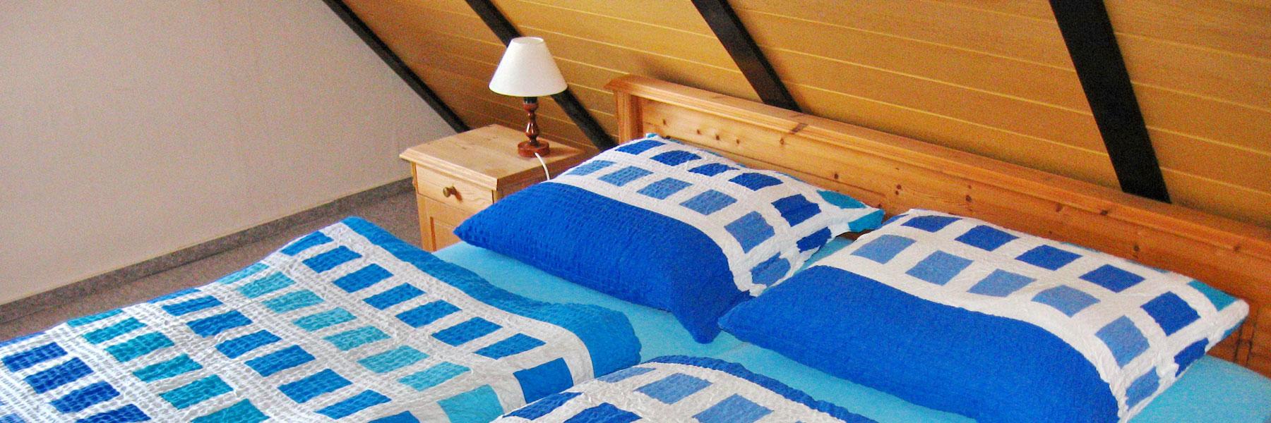 Schlafzimmer - Ferienhof Dinse