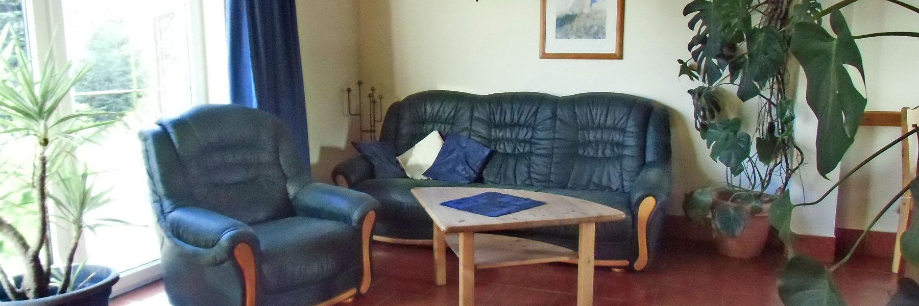 Wohnzimmer - Ferienhof Dinse