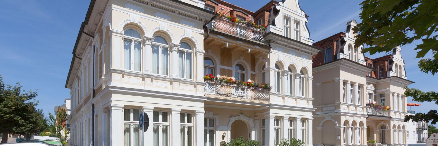 Außenansicht - Hotel Villa Auguste Viktoria
