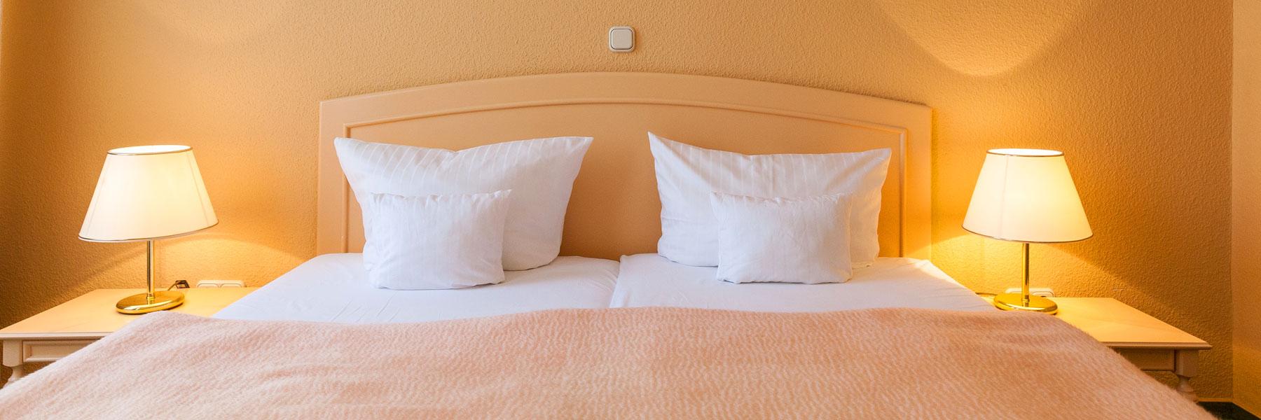 Schlafzimmer - Hotel Villa Auguste Viktoria