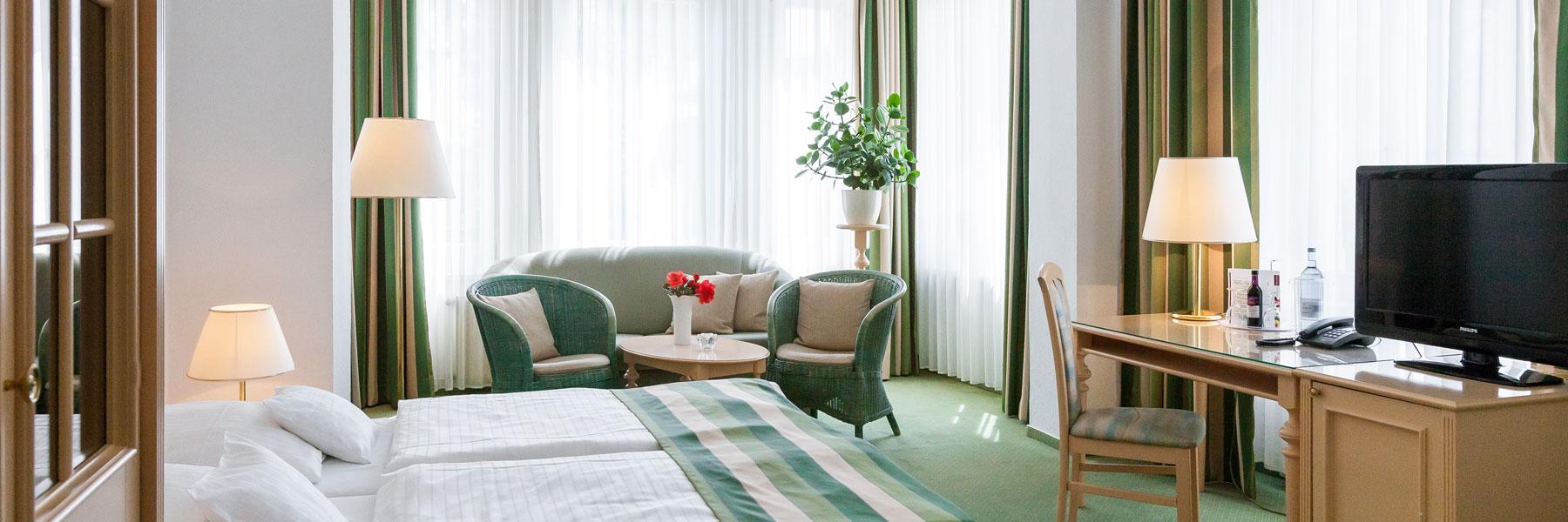 Zimmeransicht - Hotel Villa Auguste Viktoria