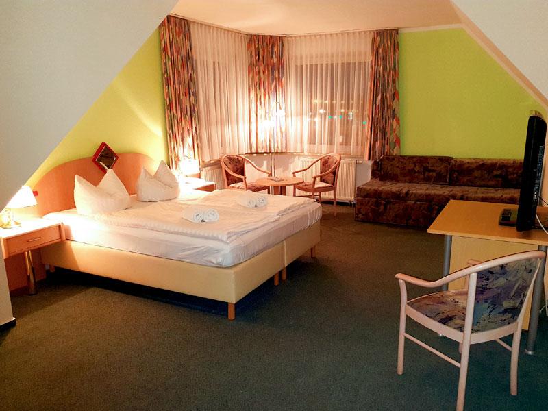 Doppelzimmer im Hotel Jahnke