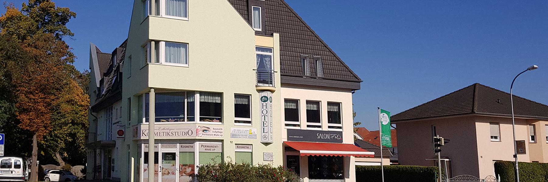 Außenansicht - Hotel Jahnke