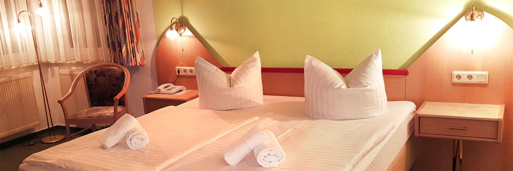 Doppelzimmer - Hotel Jahnke