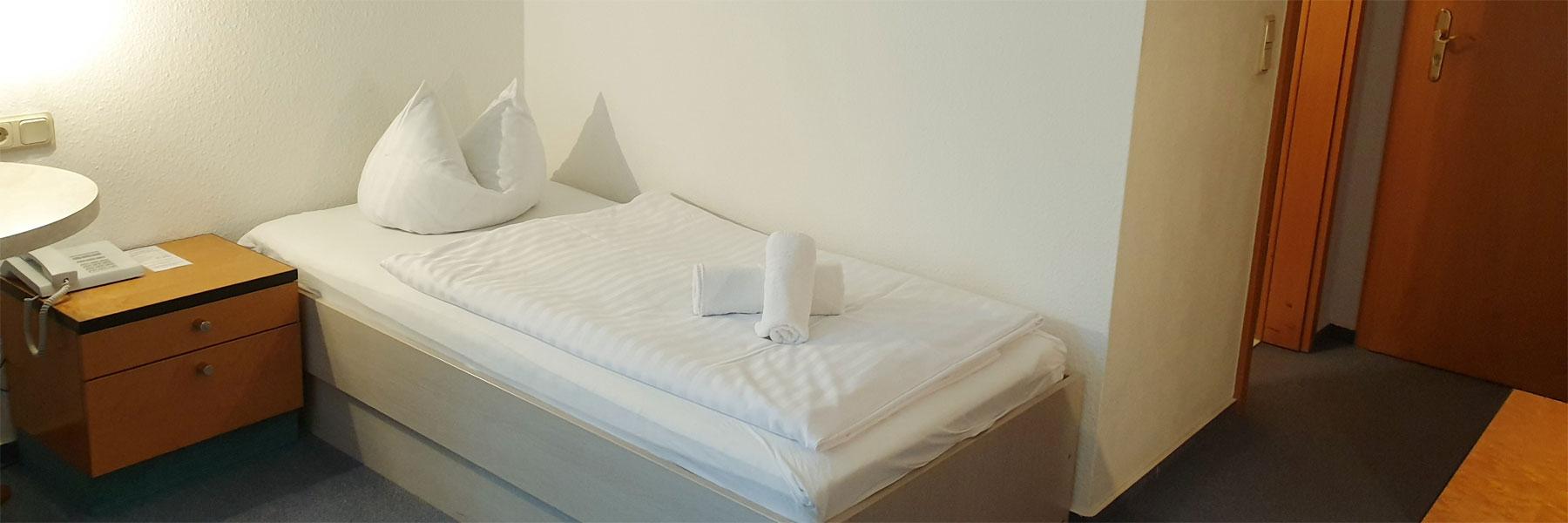 Einzelzimmer - Hotel Jahnke