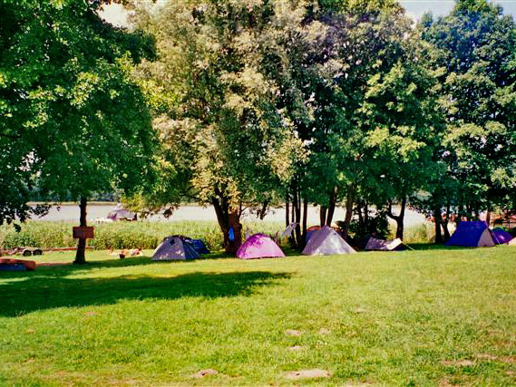 Camping am Mirower See