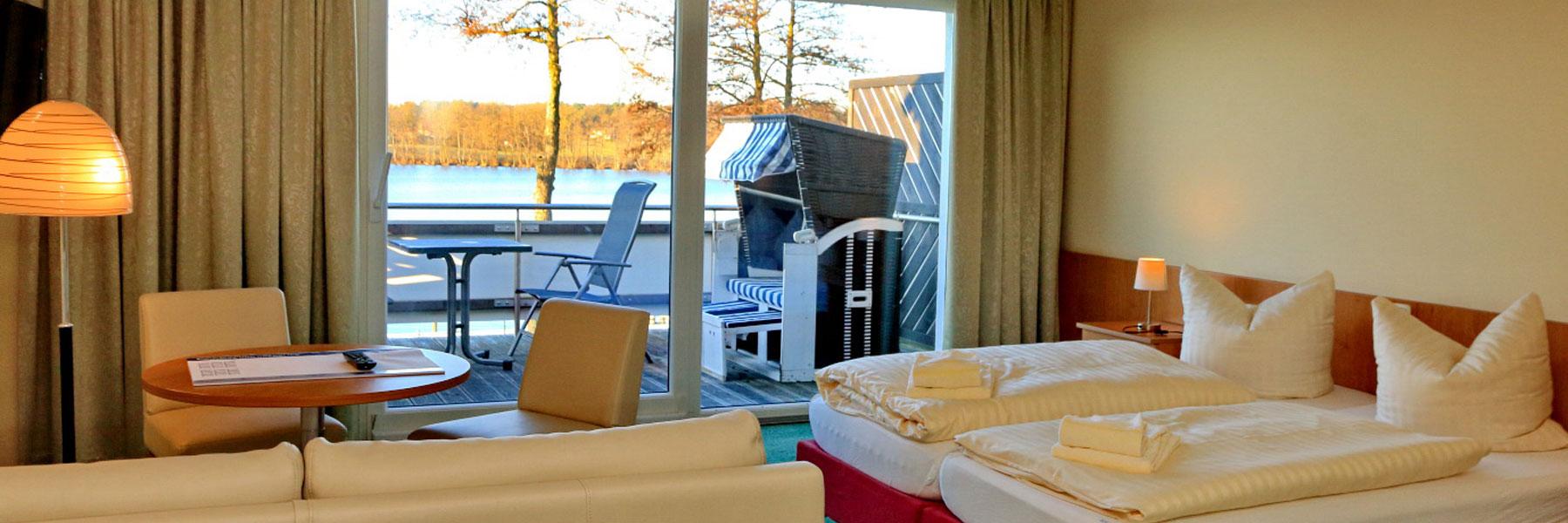 Zimmer - Strandhotel & Restaurant Mirow