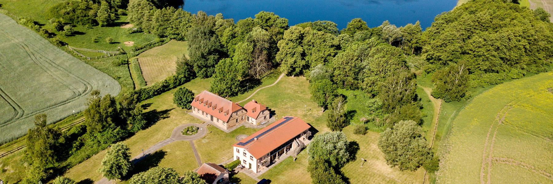 Luftaufnahme - Gästehaus BärenHof