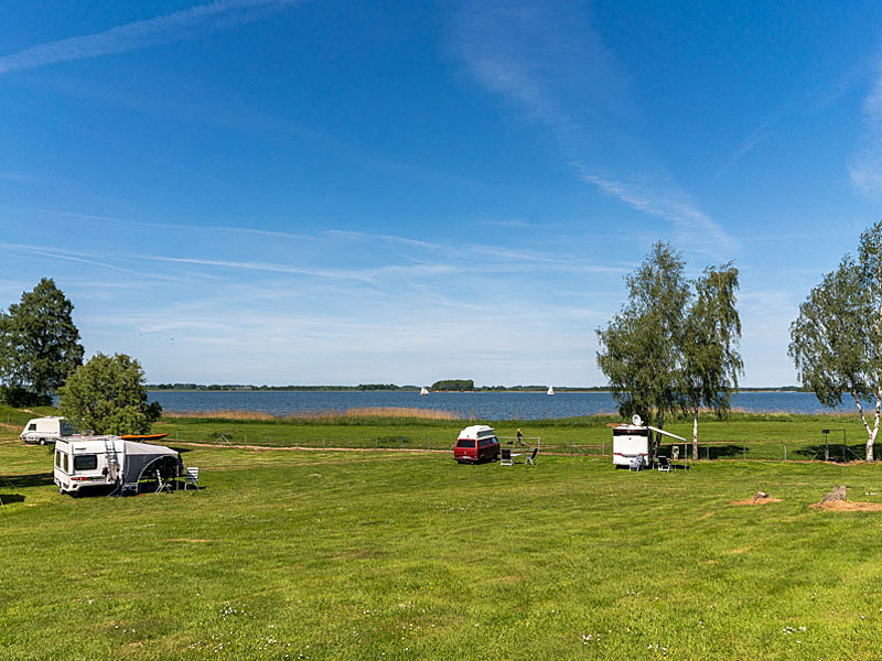 Blick zur Insel Rügen