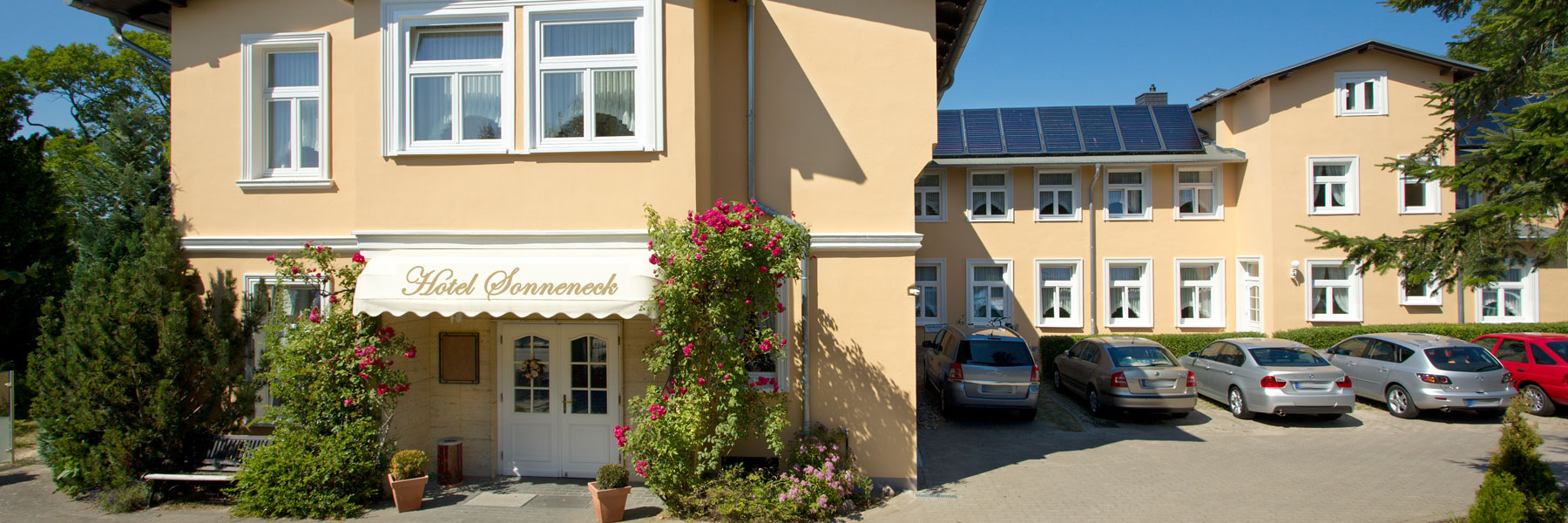 Eingang - Hotel Sonneneck