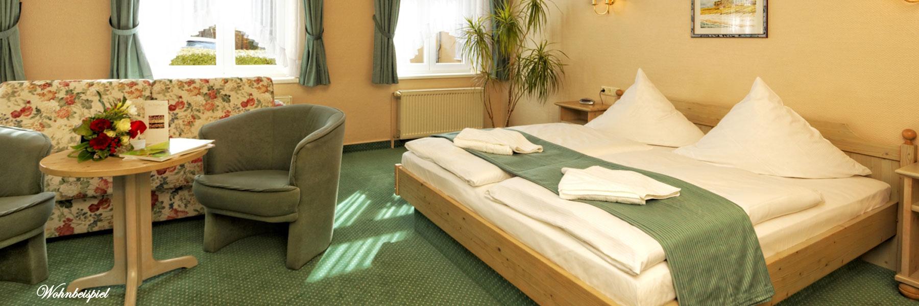Schlafzimmer - Hotel Sonneneck