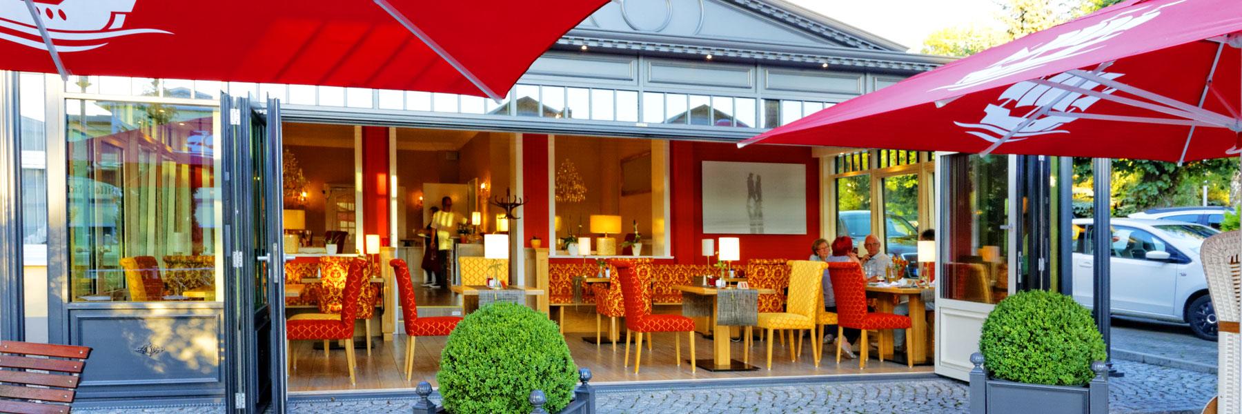 Wintergartenrestaurant - Hotel Sonneneck