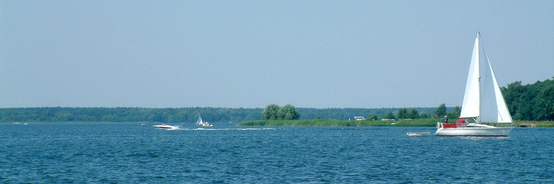 Plauer See - Ferienhäuser Pardun