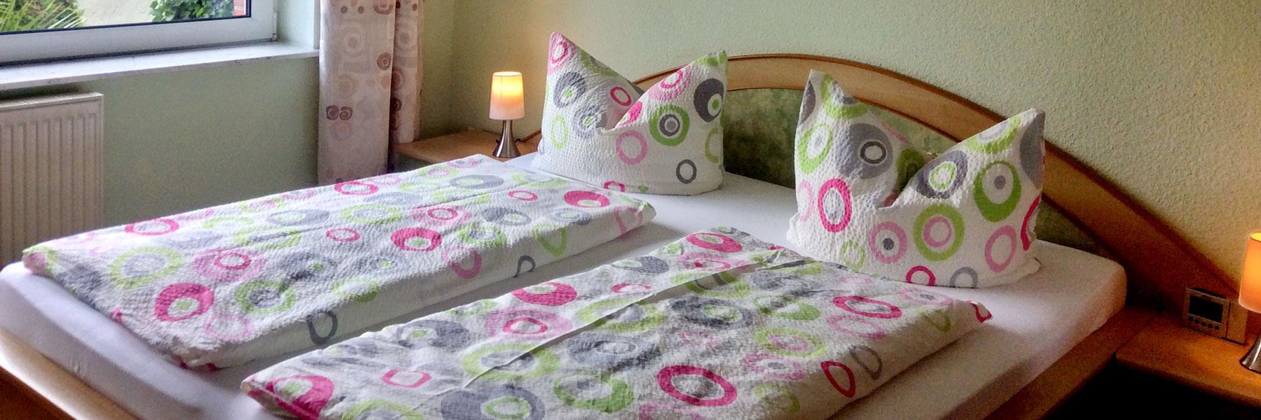Schlafzimmer - Ferienhäuser Pardun