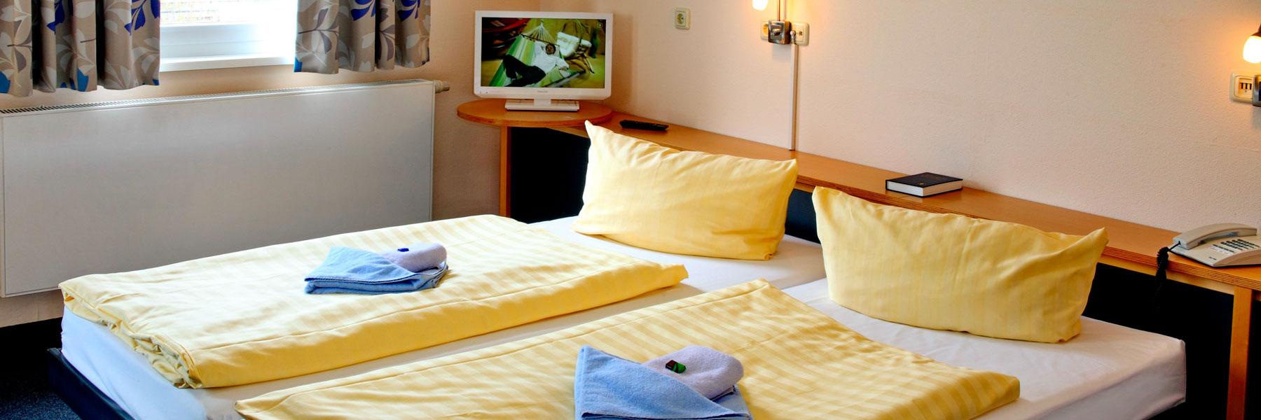 Zimmeransicht - VCH-Hotel Greifswald