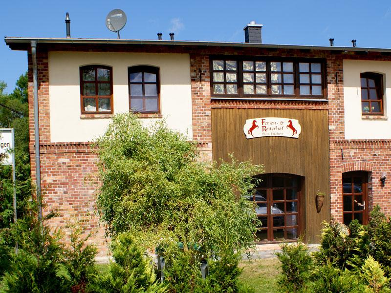 Eingang Ferienwohnungen Stechow