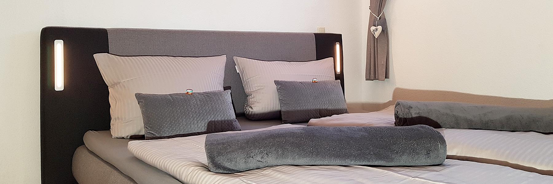 Schlafzimmer - Ferienwohnungen Oliver Stechow