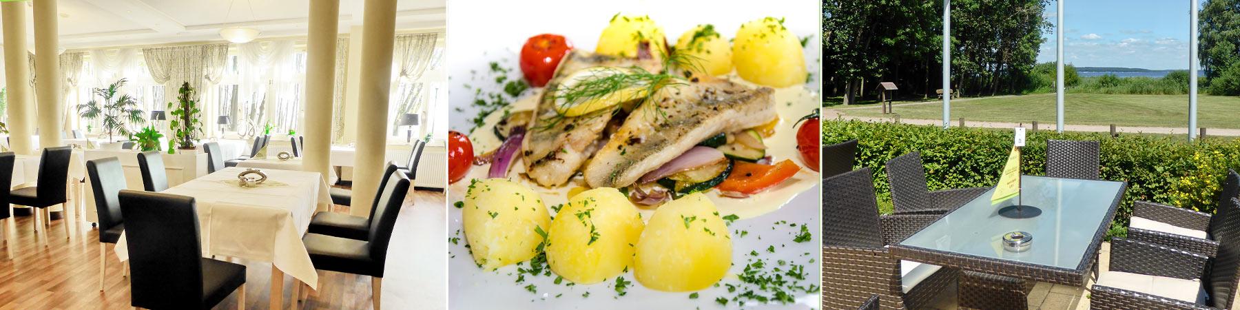 Restaurant schmal - Strandhotel Plau am See