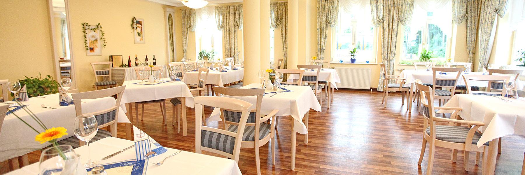 Restaurant - Strandhotel Plau am See