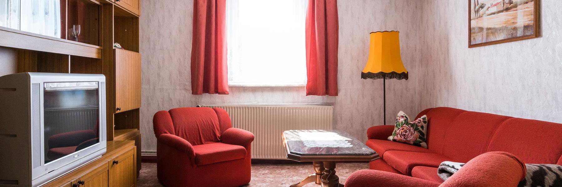 Wohnzimmer - Ferienwohnung Willi Werner
