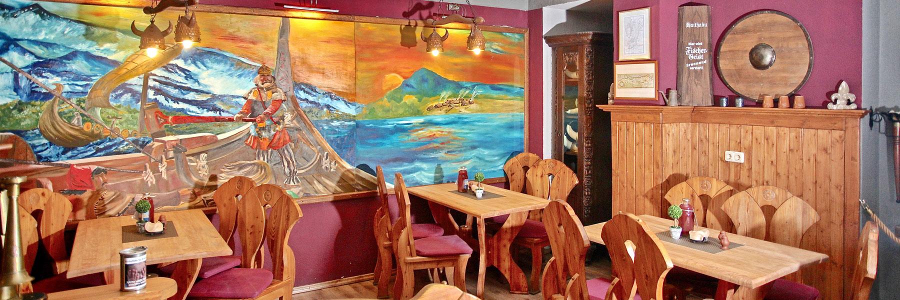 Gastraum - Gaststätte Haithabu