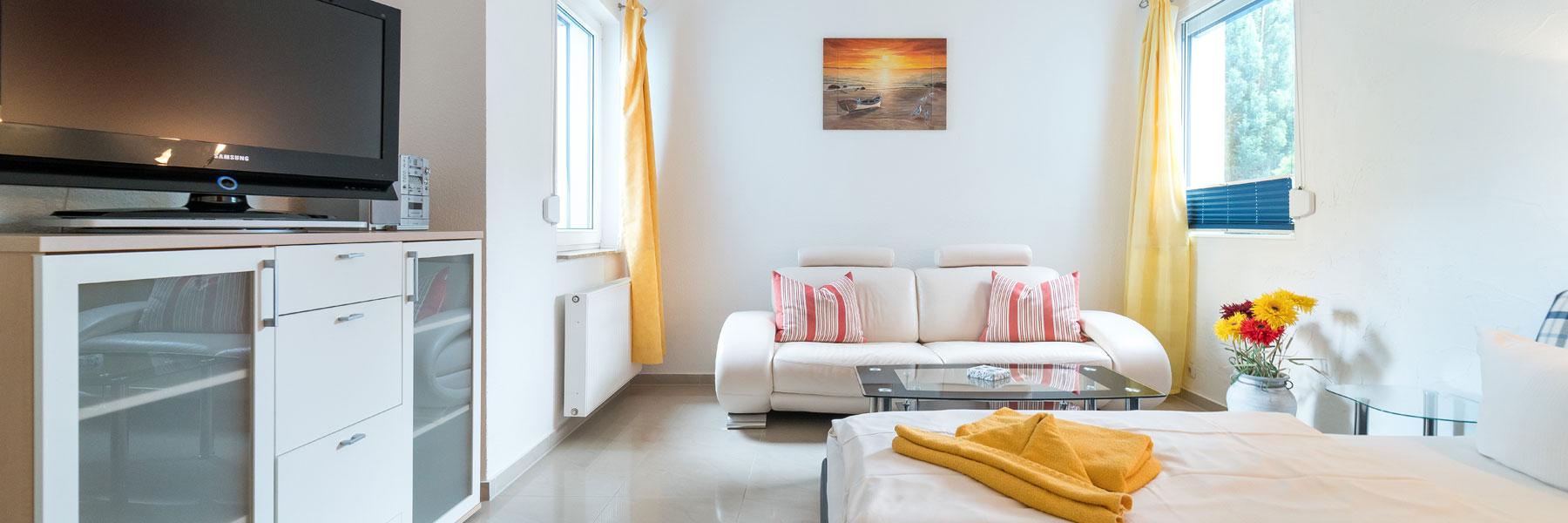 Comfort Doppelzimmer - Hotel Am Müritzhafen