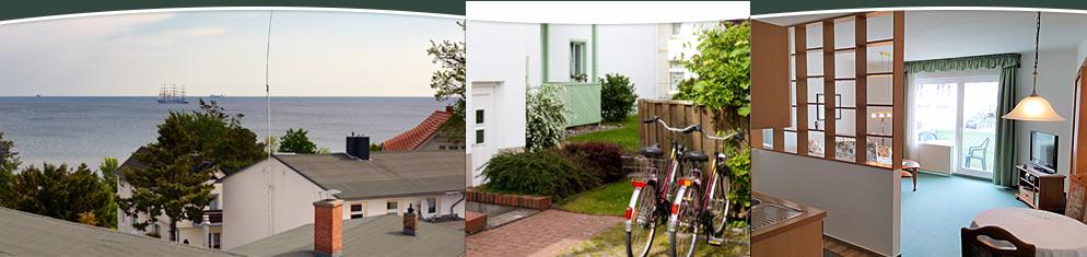Impressionen vom Haus Anne auf der Insel Usedom