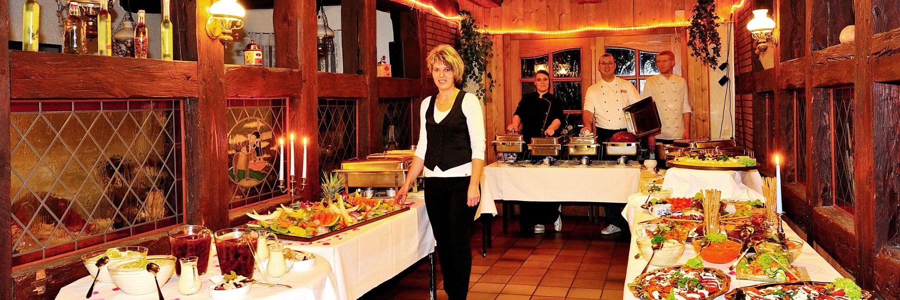 """Buffet - Hotel """"Demminer Mühle"""""""