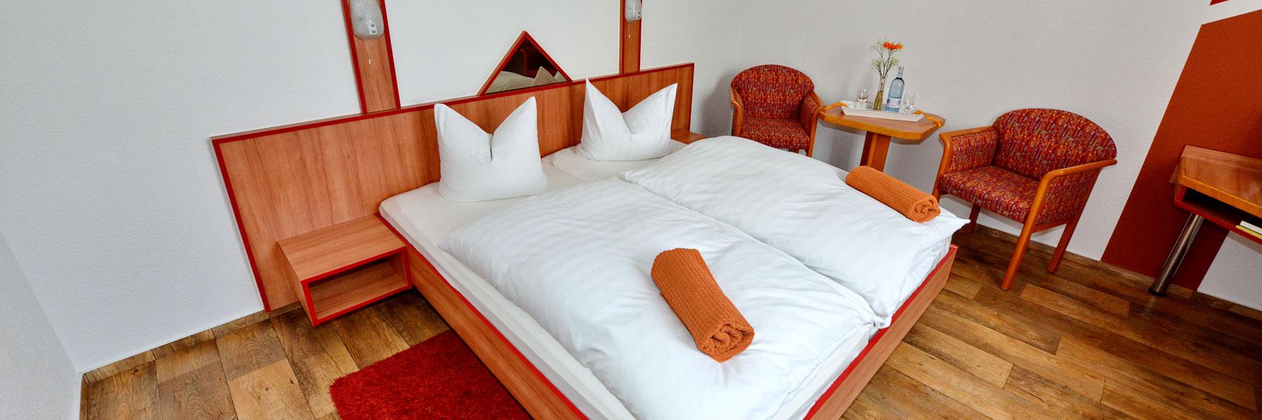 """Doppelzimmer - Hotel """"Demminer Mühle"""""""