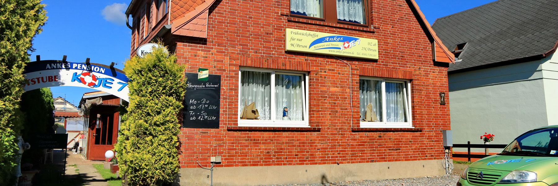 Aussenansicht - Ankes Restaurant & Pension