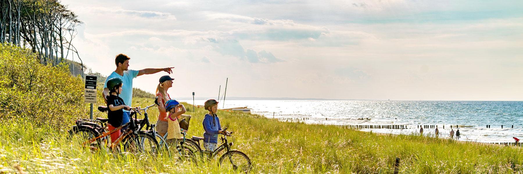 Fahrrad an der Ostsee - Ostseecamp-Ferienpark