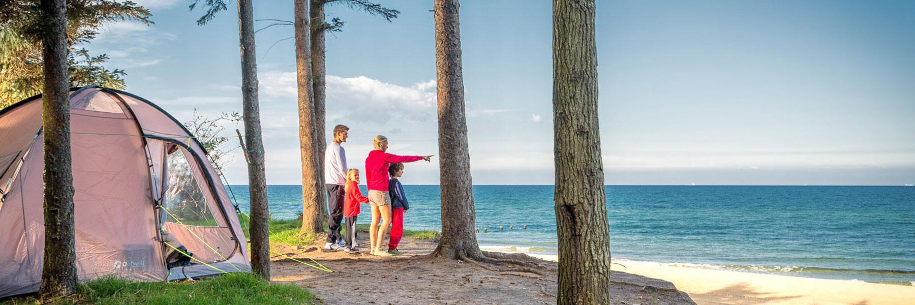 Zelten an der Ostsee - Ostseecamp-Ferienpark