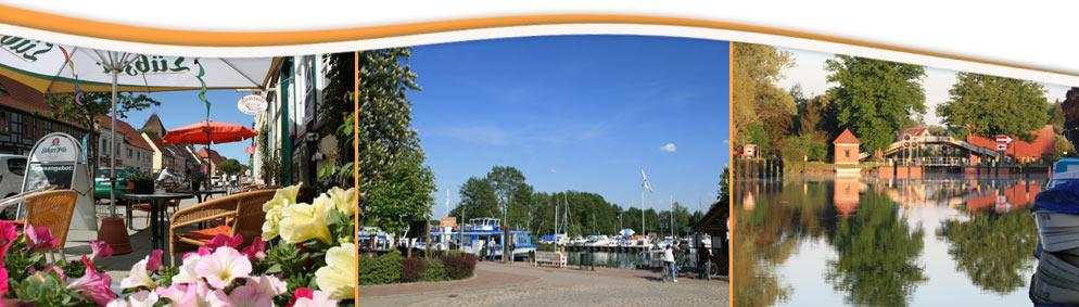 Impressionen von Plau am See an der Mecklenburgischen Seenplatte