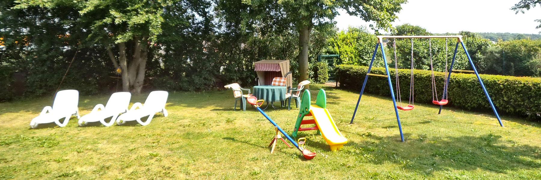 Garten - Pension Kühlungsblick