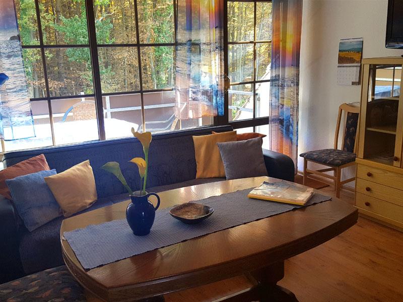 Ferienwohnung1 Wohnzimmer
