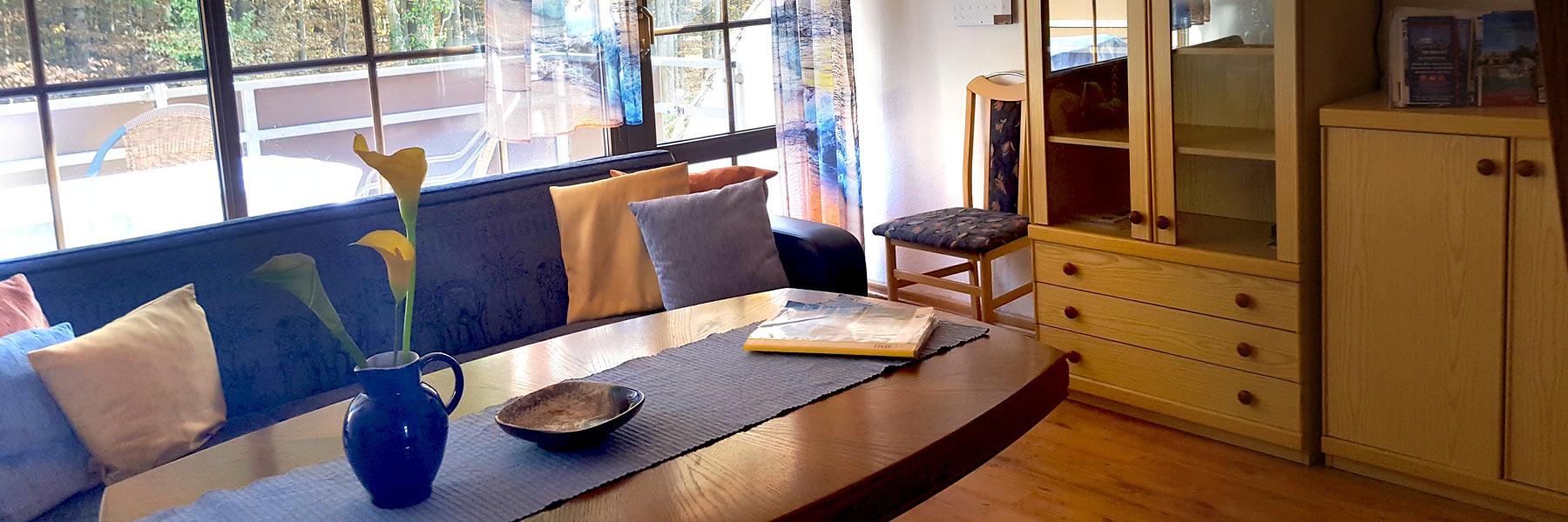 Fewo1-Wohnzimmer - Ferienwohnungen Elise Boß