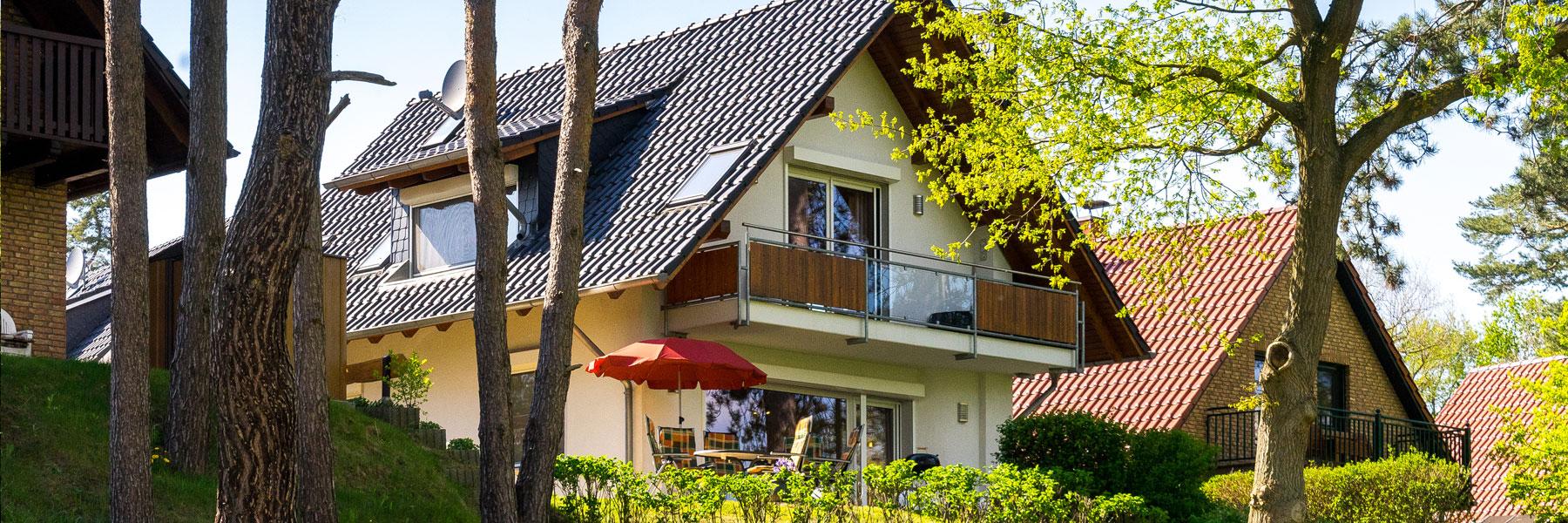Außenansicht - Ferienhaus Kranichruf