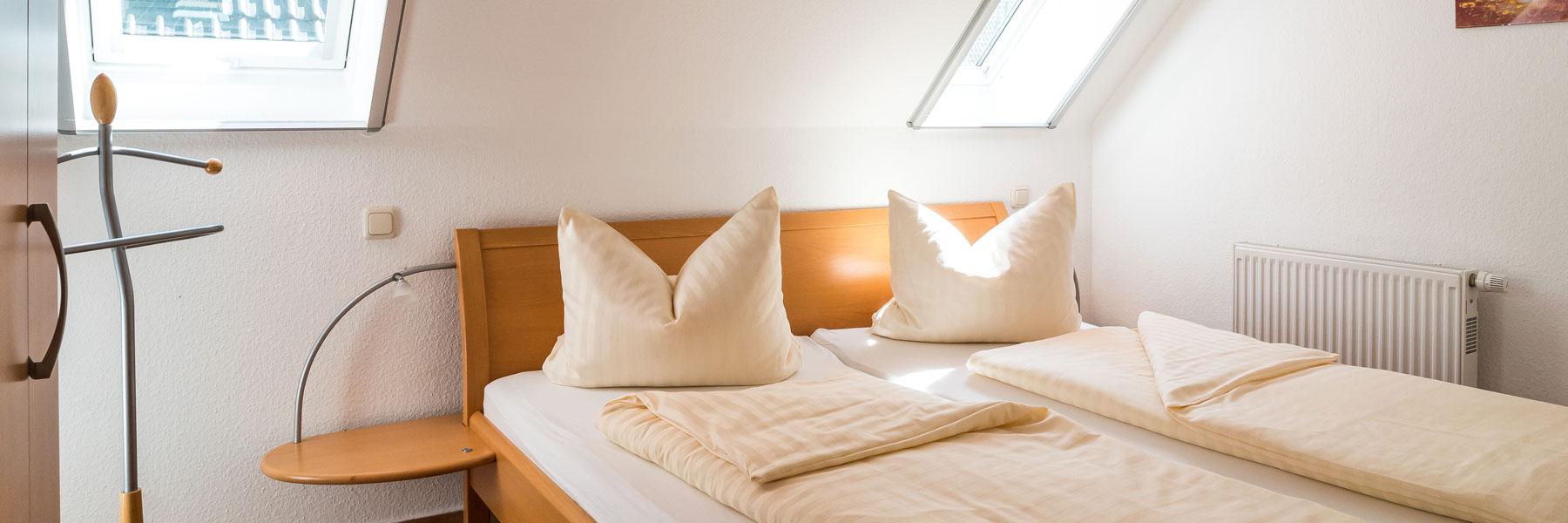 Schlafzimmer - Ferienhaus Kranichruf
