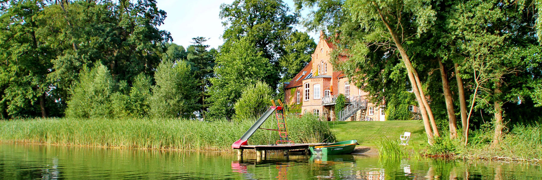Seeseite - Ferien am Hofsee