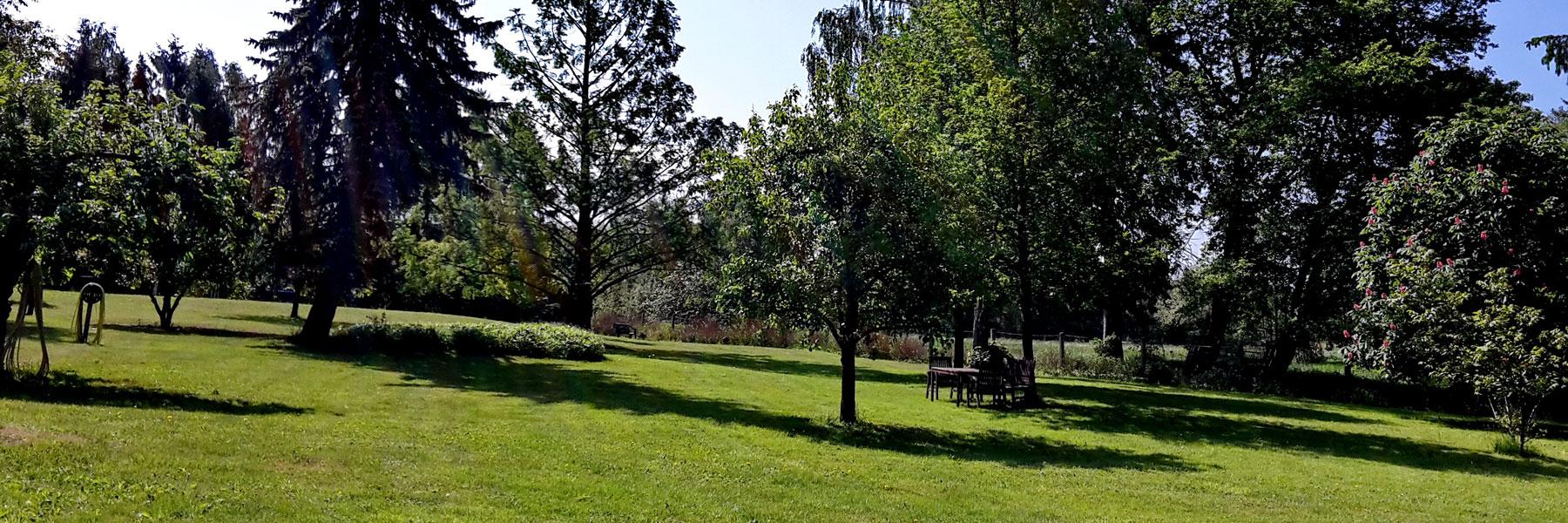 Park - Ferien- und Bauernhof Diederichs