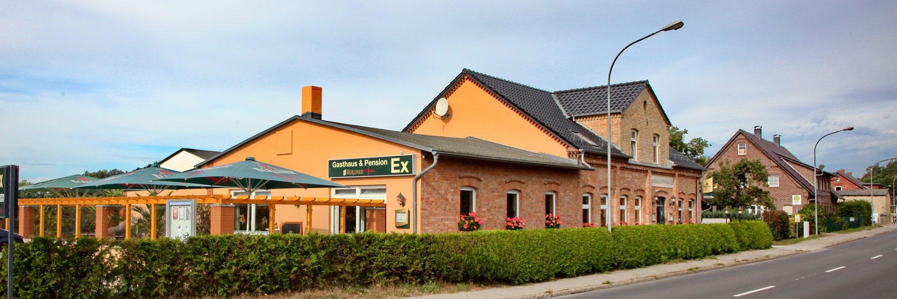 """Außenansicht - Gasthaus und Pension """"Ex"""""""