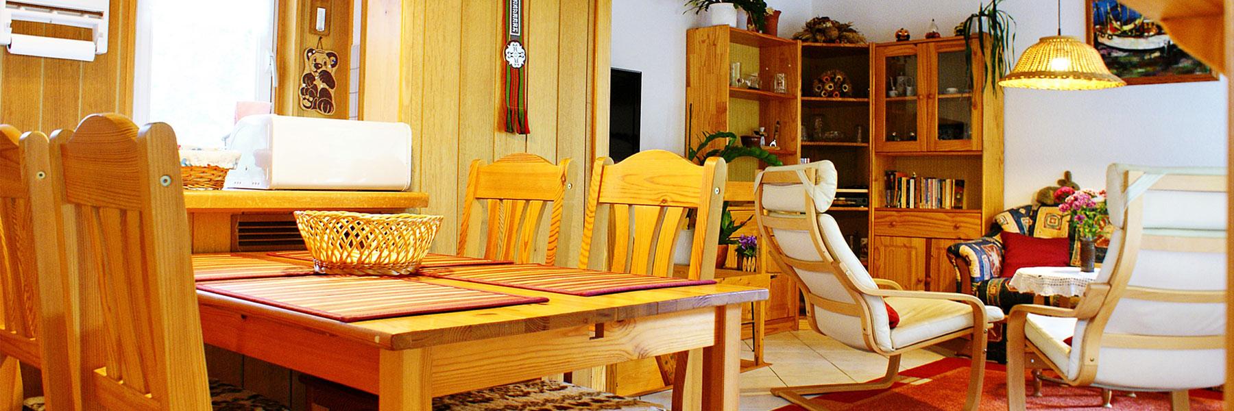 Wohnzimmer - Ferienhaus Familie Hauß