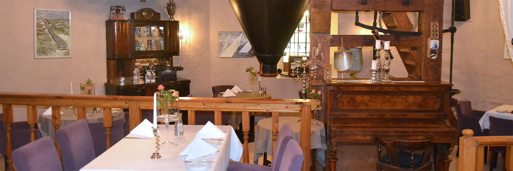 """Historischer Gastraum - Dierkower Mühle """"Zum Holländer"""""""
