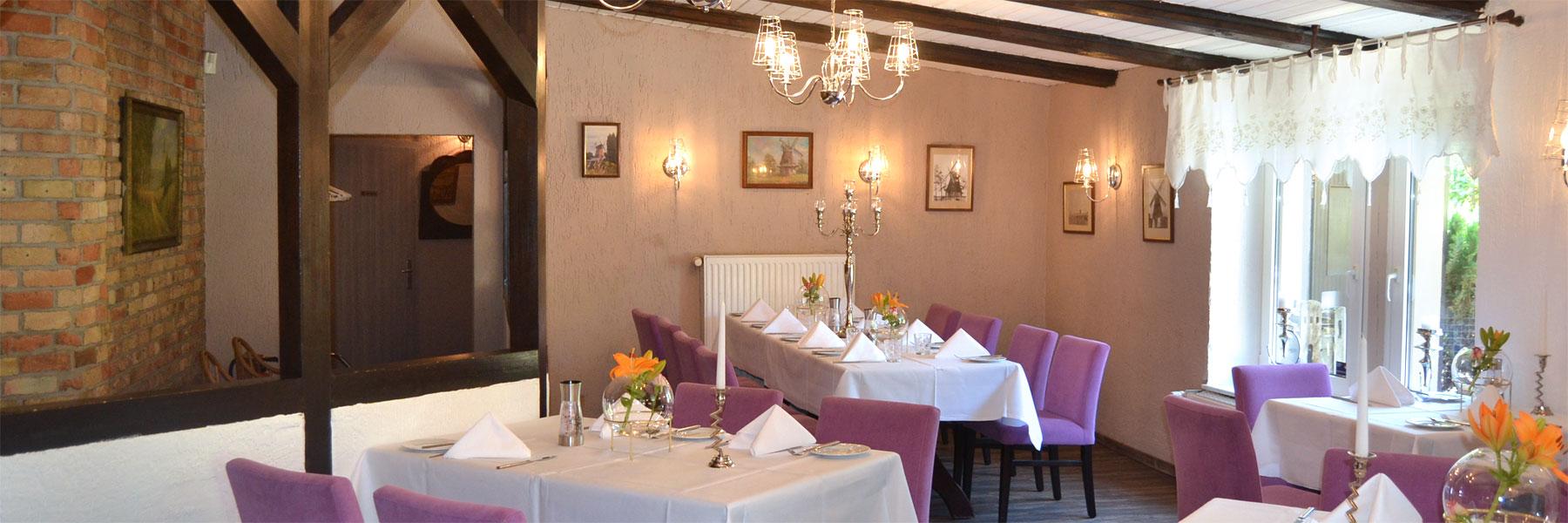 """Restaurant - Dierkower Mühle """"Zum Holländer"""""""