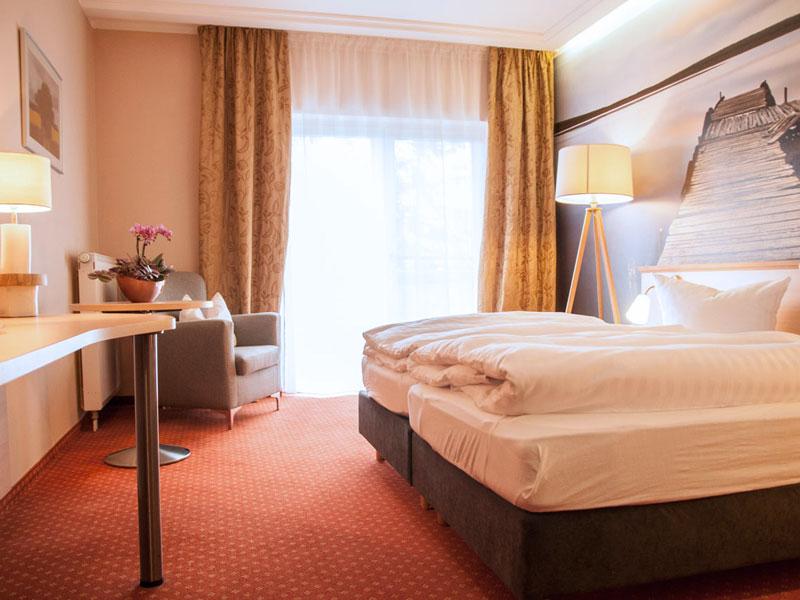 Doppelzimmer im Müritz Strandhotel